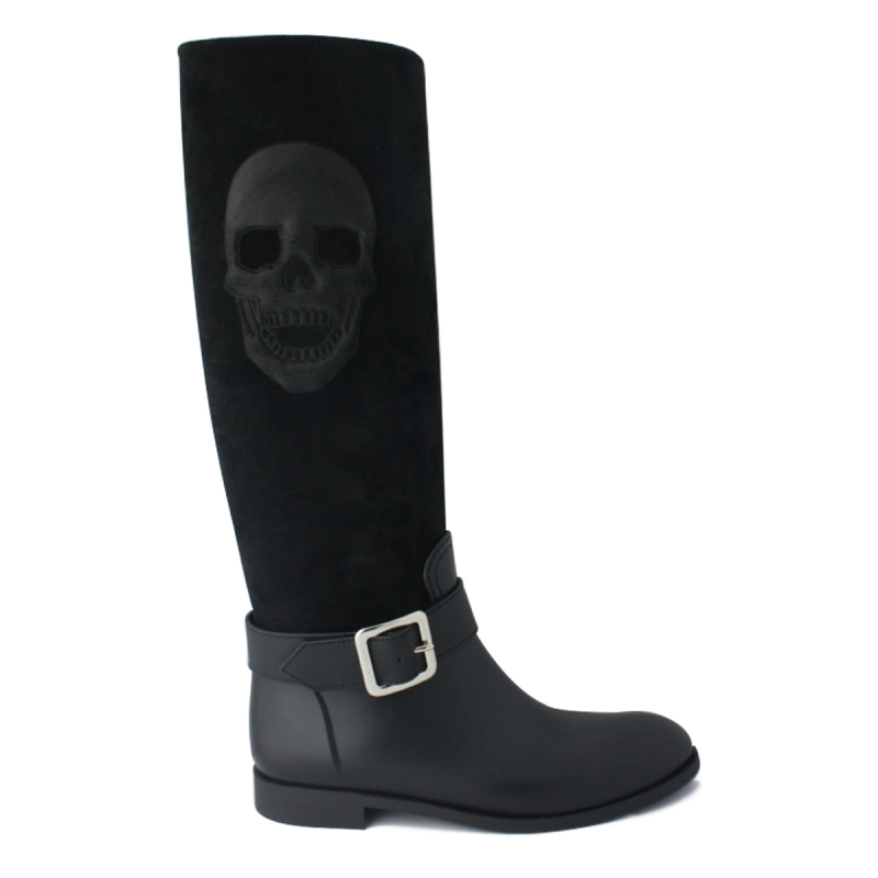 """Gummy High Boots CICLAMINO"""""""