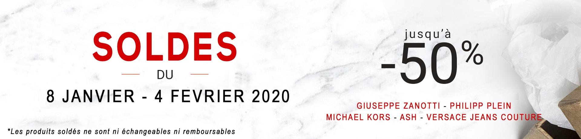 SOLDES JANVIER 2020