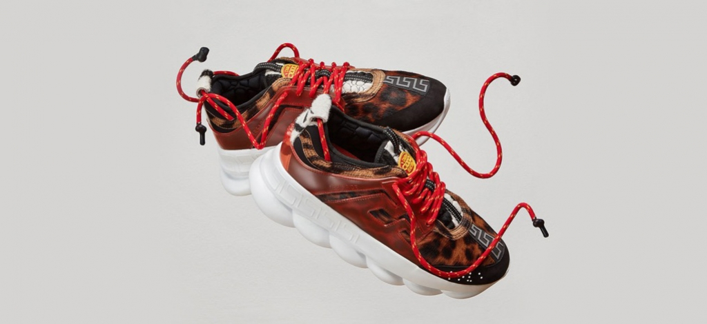 Reaction Chain Reaction Chain Versace Versace Sneakers